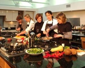 Teambuilding og fælles madlavning