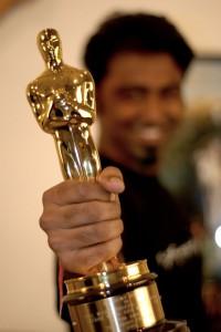 Oscar statuette til filmdag